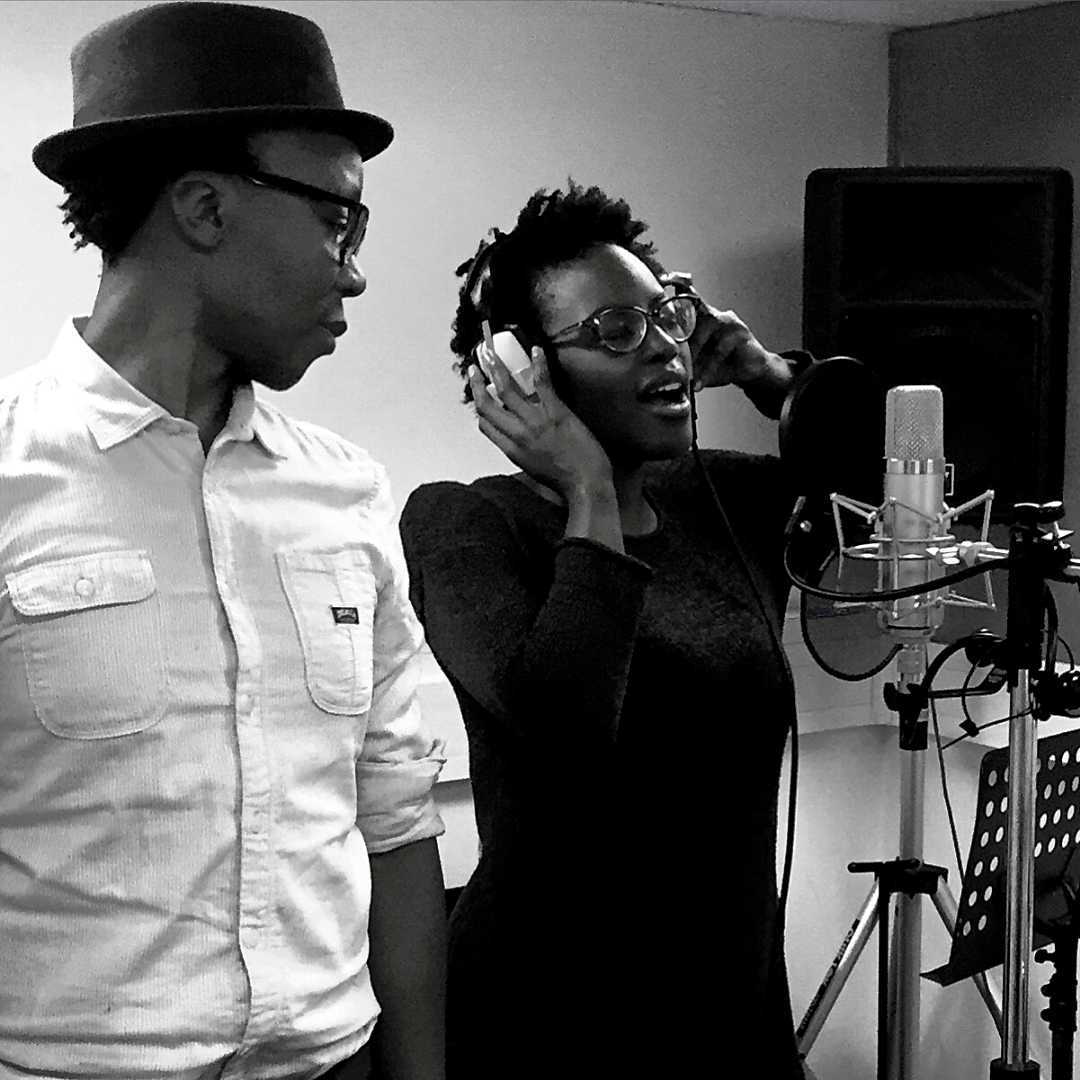 Vocalists Black and White