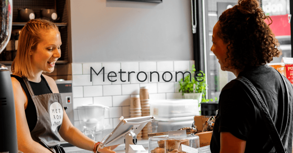 Metronome coffee house entrance