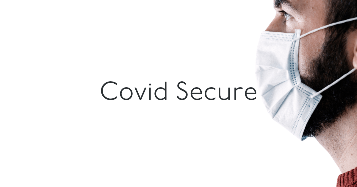 Covid secure banner